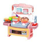 おままごと なりきりキッチンセットDX ピンク ごっこ遊び おもちゃ ままごと キッチン 子供 女の子 プレゼント