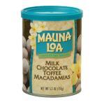 ショッピングハワイ ハワイお土産 マウナロア トフィーマカデミアナッツチョコレート 缶 155gハワイアンホースト