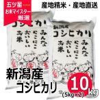 コシヒカリ 10kg ( 5kg ×2袋 ) 新潟県産コシヒカリ 令和元年産