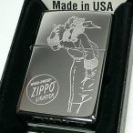 ZIPPO ジッポ ウィンディー 2017USモデル クロームポリッシュ ラスターエッチ 鏡面シルバー US加工 ウィンディ ジッポ― 1