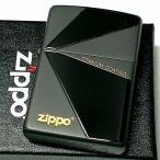 ZIPPO ライター おしゃれ チタン加工 ジッポ ブラック グレー かっこいい 鏡面&艶消し 黒チタン仕上げ シンプル メンズ ギフト プレゼント