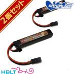 OPTION No.1 LiPo バッテリー High Power 900mAh 11.1V(マルイミニ・コネクター /ストックイン) 2個セット