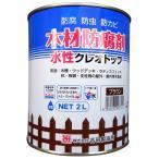 木材防腐剤 / 水性クレオトップ ブラウン 2L