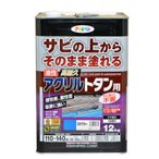 【あすつく対応】アサヒペン - 油性高耐久アクリルトタン用 - 12KG - スカイブルー【サビの上からそのまま塗れる】