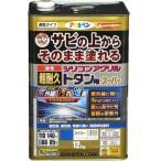【あすつく対応】アサヒペン - 油性超耐久シリコンアクリルトタン用 - 12KG - スカイブルー【サビの上からそのまま塗れる】