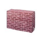 レンガ柄エアコン室外機カバー フリーサイズ 16120