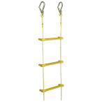 八ツ矢工業(YATSUYA) 縄はしご 小カギ付10m 12016
