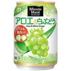 ミニッツメイドアロエ&白ぶどう280g缶 コカ・コー