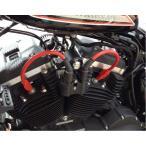 【DKカスタム】DK-WRS-RED-10 PRO RACE スパークプラグコード・レッド センターコイル用 2007〜2020 スポーツスター