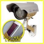 ダミーカメラ 家庭用 防犯カメラ ソーラー発電ダミーカメラ ITD-06SOL 屋外用