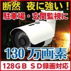 防犯カメラ SDカード録画 暗視  屋外 バレット 防犯カメラ CK-700SD