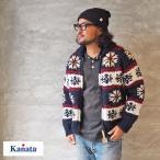 kanata カナタ カウチンセーター カウチン セーター カーディガン KN192WL13010 メンズ レディース ニット 雪柄