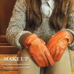 ショッピング手袋 MAKE UP メイクアップ ニットリブレザーグローブ 3colors (LDI-14LDI-15LDI-16) AW12ZA