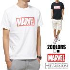 ショッピングアメカジ Tシャツ メンズ 正規ライセンス MARVEL マーベル ボックスロゴ コットン100% アメカジ