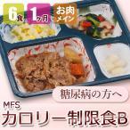 MFS カロリー制限食B 6食x4回 肉コース 糖尿病食 低カロリー 送料無料