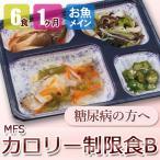 MFS カロリー制限食B 6食x4回 魚コース 糖尿病食 低カロリー 送料無料