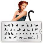 【ポイント11倍】MOYOU LONDON スタンプネイル イメージプレート Kitty(キティ)15