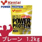 ケンタイ プロテイン パワープロテイン プロフェッショナルタイプ 1.2kg  - 健康体力研究所 (kentai)