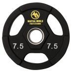 ポリウレタンオリンピックプレート 穴径50mm 7.5kg UP7500