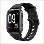 スマートウォッチ  正規仕入れ SOUNDPEATS Watch1 活動量計万歩計 高精度モニター IP68防水 1.4インチHD画面全画面タッチスクリーン 日本語アプリ ブラック