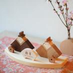 [予約販売] 雛人形 お雛様 木製 オリジナル ナチュラル ひな祭り ディスプレイ