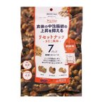 リセットナッツ きなこ風味 7袋入 ミックスナッツ ナッツ類 機能性表示食品 中性脂肪対策 機能性ミックスナッツ アーモンド ヘーゼルナッツ クルミ 国産 人気