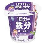 メグミルク プルーンFe 1日分の鉄分ヨーグルト 100g×12個「クール便でお届けします。」