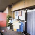 ネジ・クギ不要で床や天井を傷つけずに取り付けられる突っ張り式