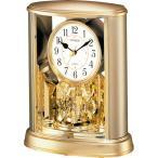 リズム時計 シチズン 置時計 サルーン 4SG724-018