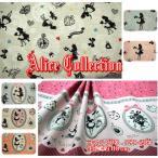 Yahoo!fabric-store heartsewing売り切りセール!アリスコレクション/コットンリネンキャンバス/生地/布/綿麻/コットンリネン/入園入学/女の子/アリス