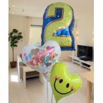 Yahoo!バルーンギフトのお店ハートラップ送料無料 バルーン 誕生日 お祝い全般 選べる数字バルーン ヘリウムタイプ バルーン電報 バルーンギフト 風船 安い