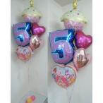 バルーン 誕生日 HUGっと!プリキュア 数字 ヘリウムガス入り バルーンギフト 風船