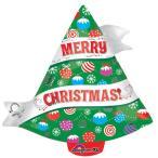 クリスマス バルーン ヘリウムガス入り リボン クリスマス ツリー 風船 パーティーグッズ 装飾