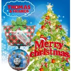 クリスマスバルーン きかんしゃトーマス 飾り バルーンギフト 風船 ヘリウムガス