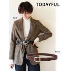 TODAYFUL(トゥデイフル)Vintage Leather Belt  17春夏予約【11611018】