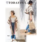TODAYFUL(トゥデイフル)Stripe Gown Coat  17春夏【11710001】
