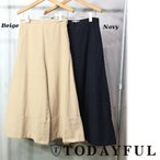TODAYFUL(トゥデイフル)Double Hem Pants  17春夏.予約【11710720】