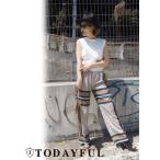 TODAYFUL(トゥデイフル)Panel Print Pants  17春夏.予約【11710721】
