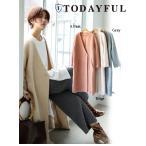TODAYFUL(トゥデイフル)Sliver Knit Coat  17秋冬.【11720008】