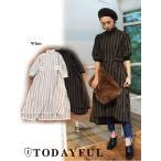 TODAYFUL(トゥデイフル)Stripe Jacquard Dress  17秋冬.【11720320】
