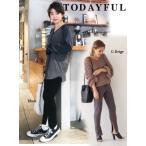 TODAYFUL(トゥデイフル)'Slit Knit パンツ' 18春夏 11810705