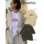 TODAYFUL トゥデイフル  FlZZ CLINK T-Shirts  20春夏予約2 12010618 TシャツフィズクリンクTシャツ カジュアル 2020ss 追加