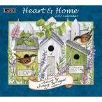2021年 USA ラングカレンダー (Heart and Home) ハート&ホーム LANG社カレンダー カントリーカレンダー お花 フラワー 星条旗