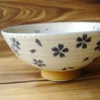 和食器 お父さんにも舞い落ちる桜ご飯茶碗