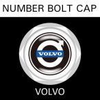ナンバープレート用 VOLVO ボルボ ナンバーボルトキャップ NUMBER BOLT CAP 3個入りセット タイプ1 ブラガ  レビューを書いて送料無料