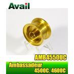 ABU Ambassadeur 4500Cシリーズ用 浅溝軽量スプール AMB4550UC ゴールド *