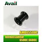 ABU Ambassadeur 6500Cシリーズ用 浅溝軽量スプール AMB6550UC ブラック *