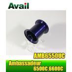 ABU Ambassadeur 6500Cシリーズ用 浅溝軽量スプール AMB6550UC ネイビー *