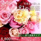 産地直送!浜田バラ園 幻のバラの花束 8,640円香り重視セット