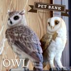 ショッピング貯金箱 PET BANK フクロウ オウル 貯金箱 ペットバンク Owl PET BANK